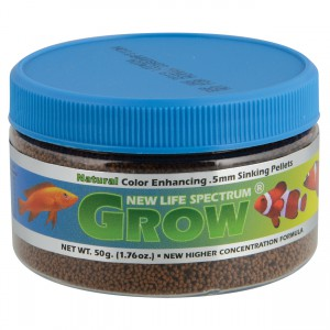 Grow Formula - 0.5 mm Sinking Pellets - 50 g