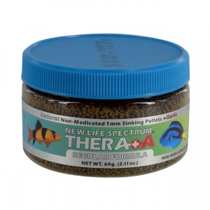 Thera A Anti-Parasitic Formula - 1 mm Sinking Pellets - 60 g