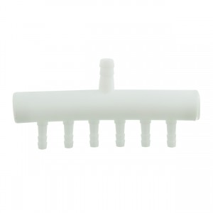 Plastic Air Manifold - 6 Outlet