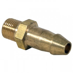 Brass Replacement Nozzle for Commercial 1 Air Pump - 1/4""