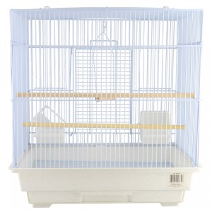 Small Bird Cage Kit - Square-Style - White