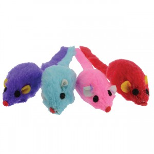 Suede Mouse - 4 pk
