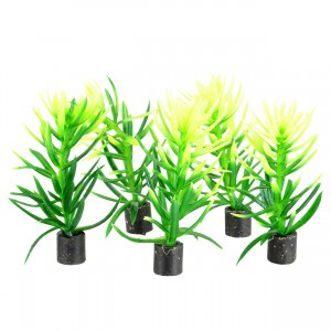 "Mini Plant - Green Bush - 2.5"" - 5 pk"