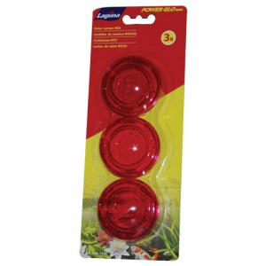 PowerGlo Lens Set - Red - 3 pk
