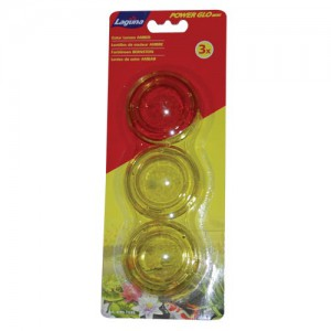 PowerGlo Lens Set - Amber - 3 pk