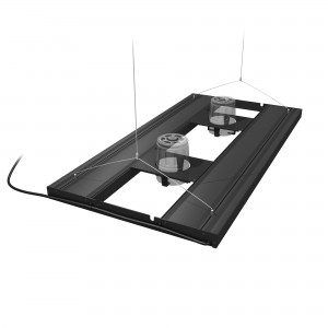 """T5 HO Hybrid 4-Lamp Mounting System Fixture - 36"""""""