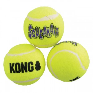 KONG AirDog Squeakair Ball - Medium - 3 pk