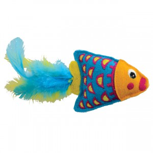 KONG Tropics Fish Toy - Orange