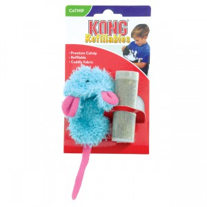 KONG Refillable Catnip Toy - Slipper