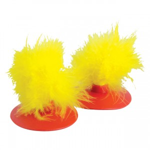 KONG Glide 'N Seek Feather Replacements - 2 pk