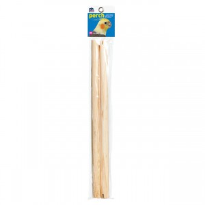"Bird Perch - 15"" x 0.75"" dia - 2 pk"