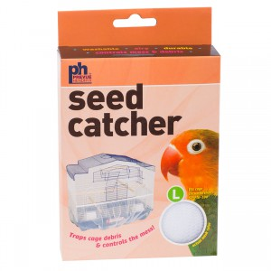 "Mesh Seed Catcher - Assorted Colors - 52"" to 100"""