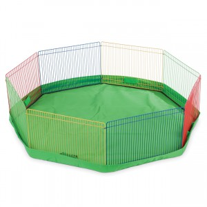 """Mat/Cover for the Small Pet Playpen - Green - 34"""" dia"""