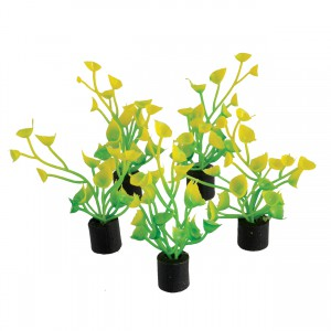 "Mini Plant - Yellow and Green - 2"" - 5 pk"