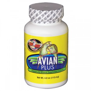 Zoo Med Avian Plus Bird Vitamins - 4 oz
