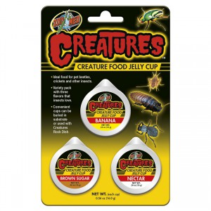 Creatures Creature Food Jelly Cup - 3 pk