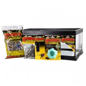Creatures Creature Den Low Profile Starter Kit - 6 gal