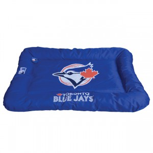 Protect Me Alert Series Blue Jays Pet Bed