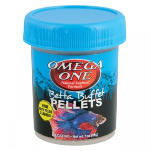 Betta Buffet Pellets - 1 oz