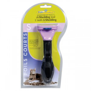 Short Hair deShedding Tool for Cats - S - 1.75""