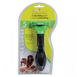 """Long Hair deShedding Tool for Dogs - S - 1.75"""""""