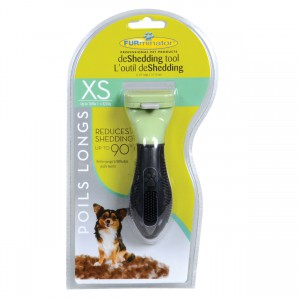 """Long Hair deShedding Tool for Dogs - XS - 1.25"""""""
