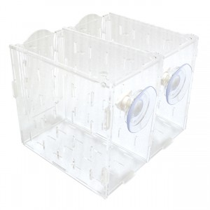 "Acclimation Tank - 2 Compartments - 8"" x 7"" x 6"""