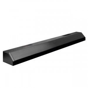 Deluxe Single T8 Fluorescent Strip Light - Black - 36""