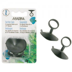 "Suction Cups for Heaters (up to 3/4"" dia.) - 2 pk"