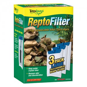 Filter Cartridges for ReptoFilter 125 - Large - 3 pk