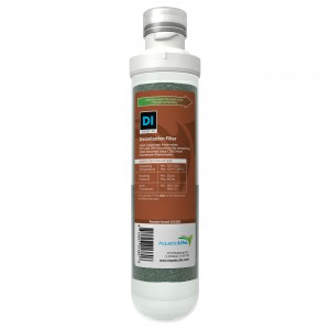 Twist-In Mixed Bed Color Changing Deionization Filter Cartridge
