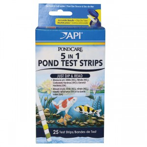 5 in 1 Pond Test Strips - 25 pk