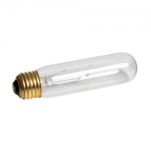Highlights Incandescent Tubular Lamp - Clear - 25 W