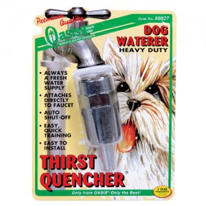 Thirst-Quencher Heavy Duty Dog Waterer