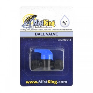 Ball Valve for Misting Systems - 3/8""