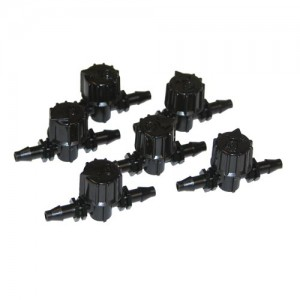Micro Ball Valves - Barb x Barb - 6 pk