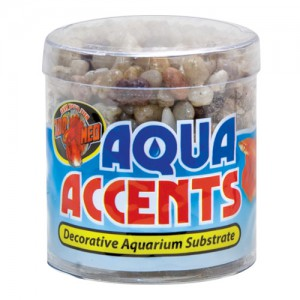 Aqua Accents Decorative Substrate - Light River Pebbles - 0.5 lb