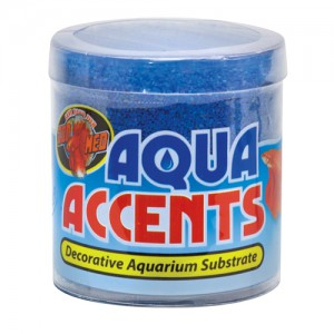 Aqua Accents Decorative Substrate - Ballistic Blue Sand - 0.5 lb