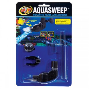 AquaSweep Rotating Filter Attachment