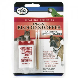 Quick Blood Stopper Antiseptic Styptic Powder - 0.5 oz