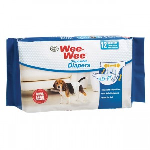 Wee-Wee Disposable Diapers - Medium - 12 pk