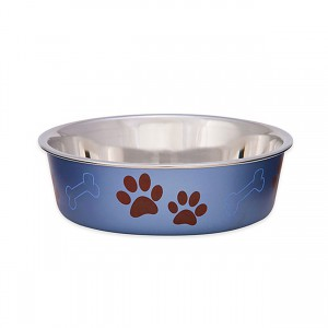 Bella Bowl - Metallic Blueberry - Small