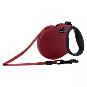 Adventure Retractable Leash - Red - Medium
