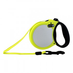 Adventure Visibility Retractable Leash - Neon Yellow - Medium