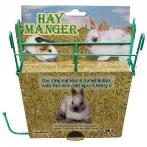 Hay Manger with Salt Hanger - Assorted