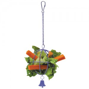 Veggie Basket Treat Holder - Assorted