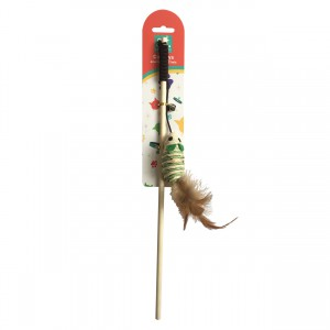 Cat Feather Tether - Tail