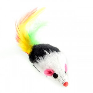 Furry Mouse Toy - Feather Tail