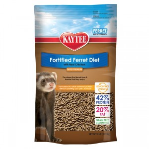 Fortified Ferret Diet with Real Chicken - 4 lb