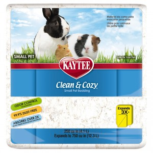 Clean and Cozy Small Pet Bedding - 250 cu in - White